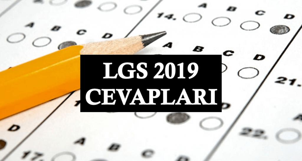 LGS 2019 Cevapları
