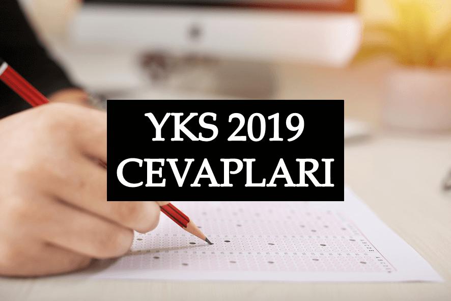 YKS 2019 Cevapları