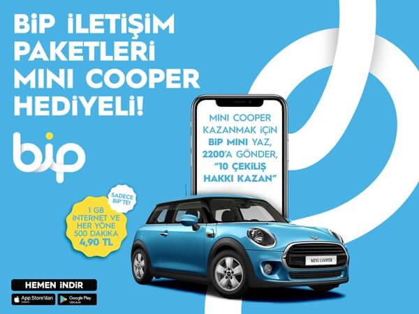BiP Mini Cooper Çekilişi