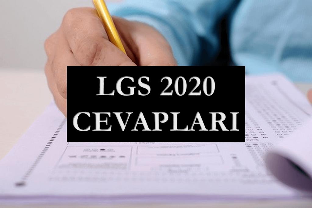 LGS 2020 Cevapları