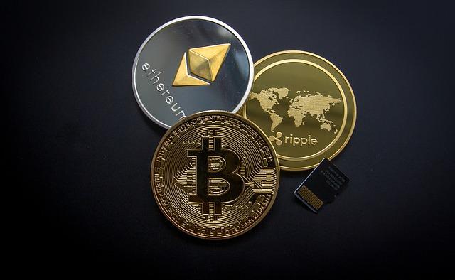 Bitcoin, Ethereum, Ripple