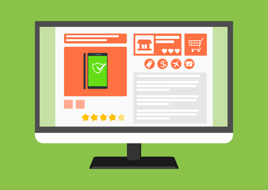 E-ticaret Ekranı