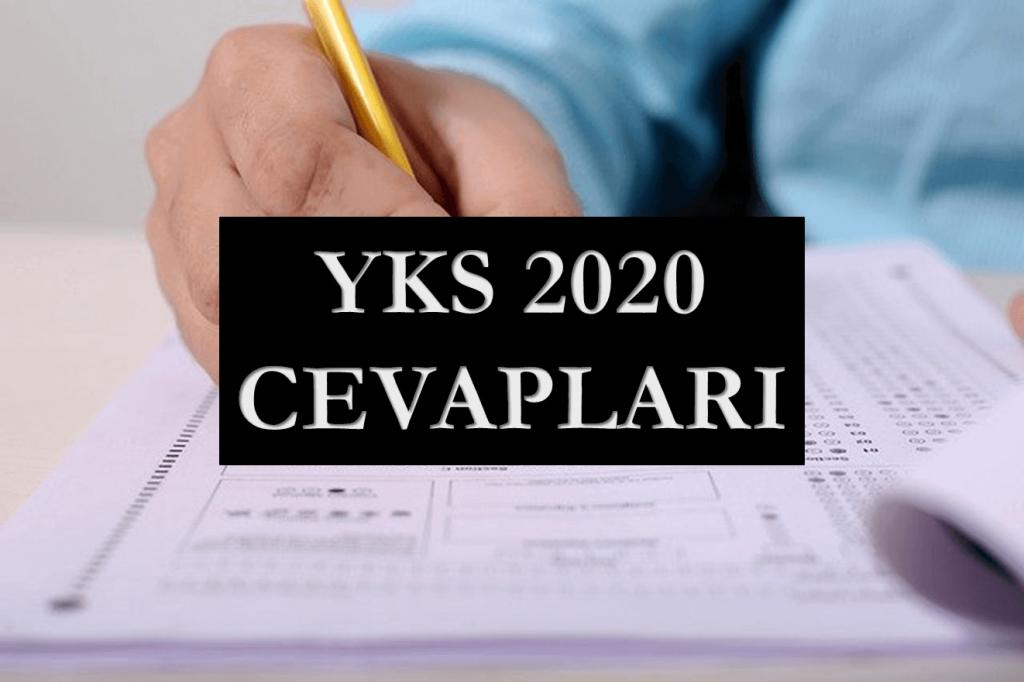 YKS 2020 Cevapları